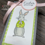 ADORABLE Easter Bunny Bags with the Gift Bag Punch Board