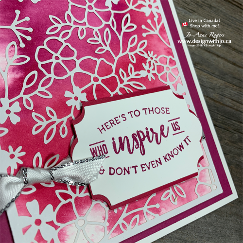 Stampin Writes and How to Make Watercolour Backgrounds with Markers