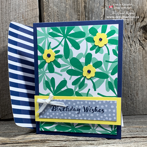 You won't believe how FAST and Simple Cards with Happiness Blooms Memories & More Card Pack