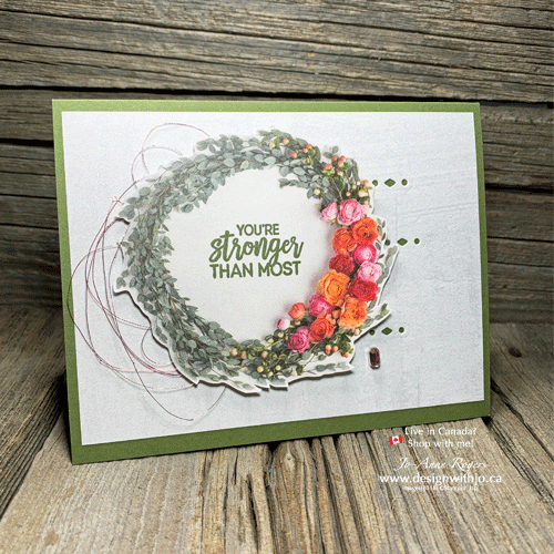 I LOVE how EASY Cards with Cutouts are with Petal Promenade DSP and Beautiful Layers Thinlits from Stampin Up