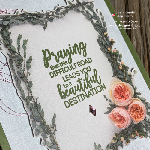 Cards with Cutouts are Quick and Easy with Stampin' Up'!'s  Beautiful Layers Thinlits and Petal Promenade DSP