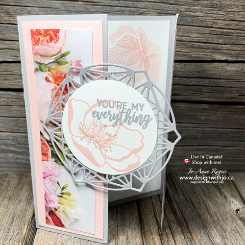 EASY & Pretty DIY Gatefold Cards are a SNAP with the Beautiful Promenade stamps