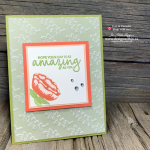 Oh So Simple Dry Embossing Vellum Birthday Card