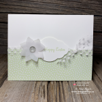 I LOVE to Make Handmade Cards Using Vellum and punches from Stampin Up!