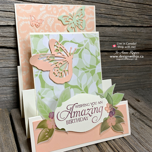 Your Stampin Trimmer Helps Make Stair Stepper Cards the Easy Way