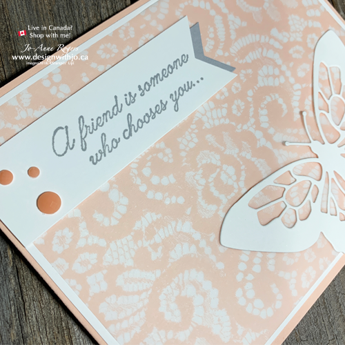 Beautiful Handmade Birthday Cards for Friends with Butterfly Beauty Dies from Stampin Up!