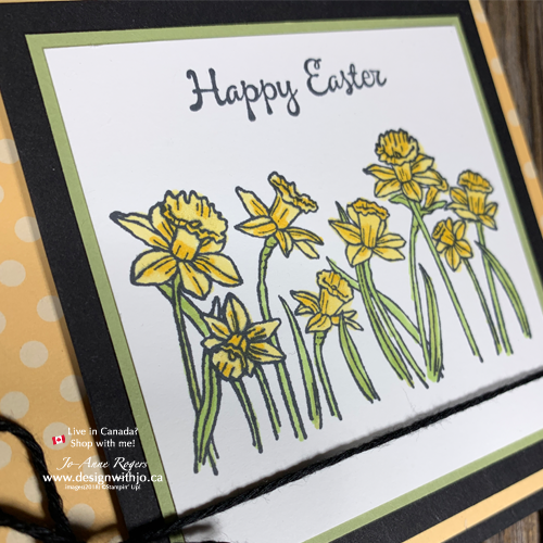 Simple Alcohol Marker Colouring with Stampin Blends for a Happy Easter 2019