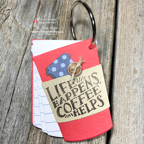 ADORABLE Simple DIY Gift for Coffee Lovers with Coffee Cup Dies from Stampin Up!