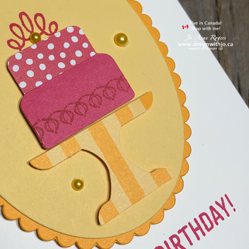 The Cake Builder Punch Makes Cute Birthday Cards for Friends