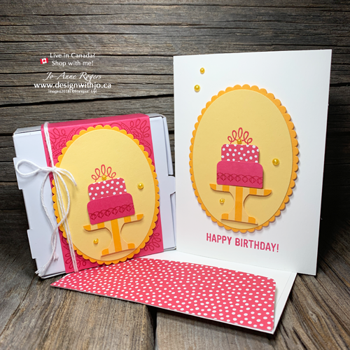 Adorably Cute Birthday Cards for Friends with Matching Mini Pizza Gift Box