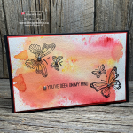 Create VIBRANT Brusho Backgrounds for Card Making