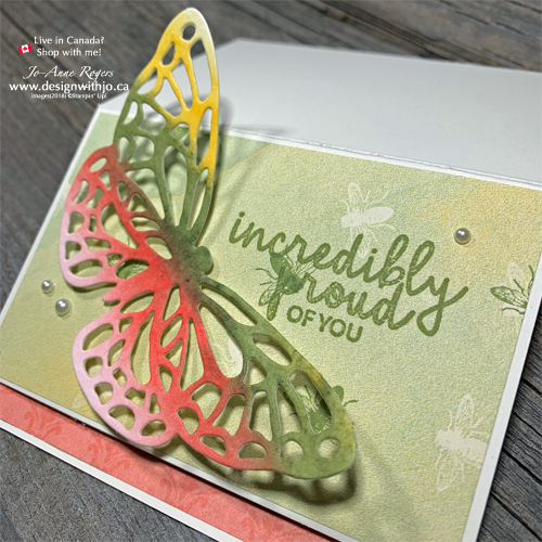 NEW VIDEO Easel Card with Butterfly Cutout from Springtime Impressions