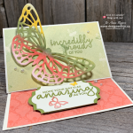 Get all the TRICKS to Make This Easel Card with Butterfly Cutouts from Butterfly Beauty and Springtime Impressions Dies