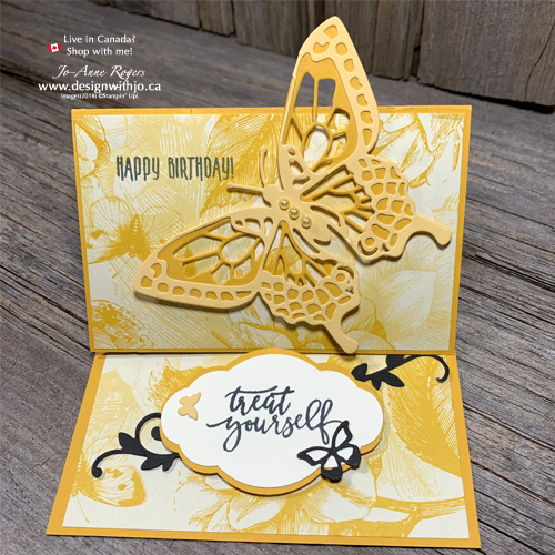 VIDEO: Make an Easel Card with Butterfly Cutout