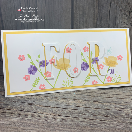 Use Your Stamparatus for Handmade Eclipse Cards with Large Letter Framelits