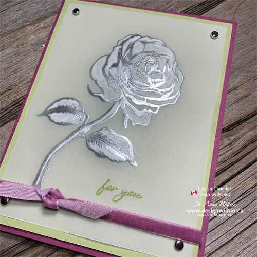 Do You Know How to Dry Emboss Vellum?