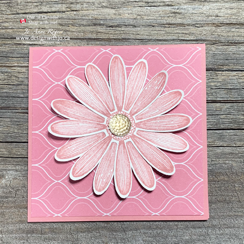 New 2019-21 In Color Daisy Lane Notecards Rococo Rose is Gorgeous!