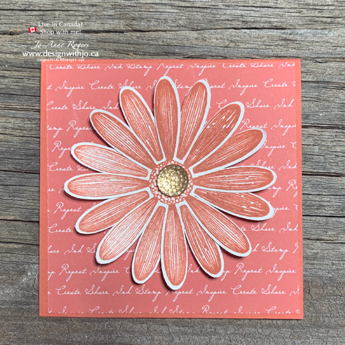 I LOVE the New 2019-21-In-Color-Daisy-Lane-Notecards