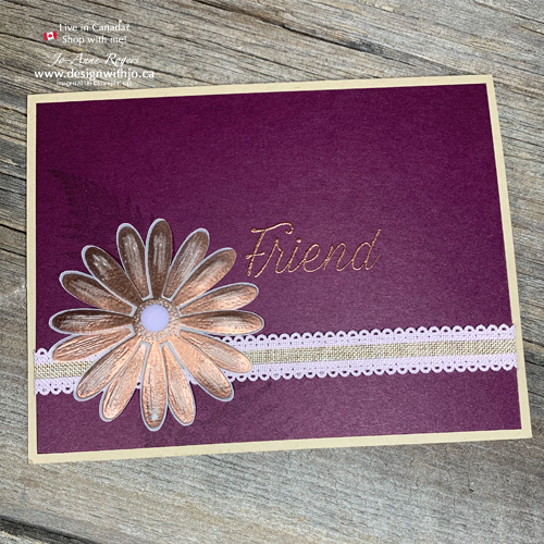 Card Making Tips for Papercrafters and Stampin' Up!s Daisy Lane Bundle