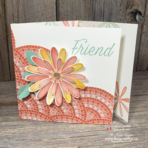 Learn How to Make a Tri Fold Greeting Card with Daisy Lane Punches