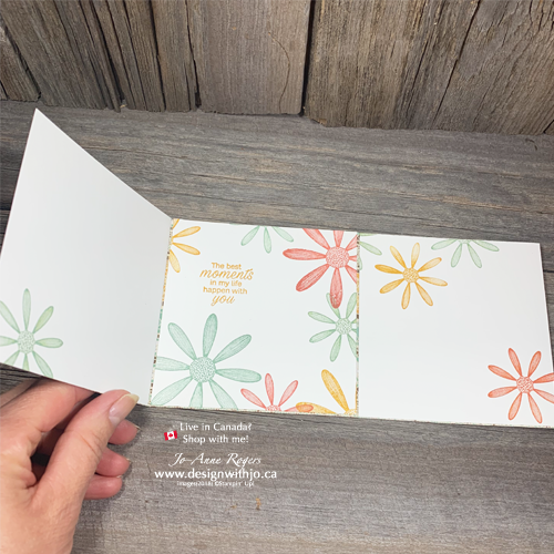 How to Make a Tri Fold Greeting Card with Daisy Lane Punches