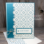 I LOVE Simple Card Making with Stitched Lace Dies