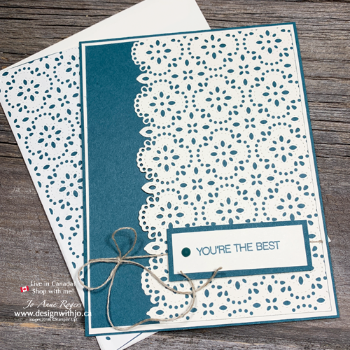 STEP by STEP Beautifully Simple Card Making with Stitched Lace Dies