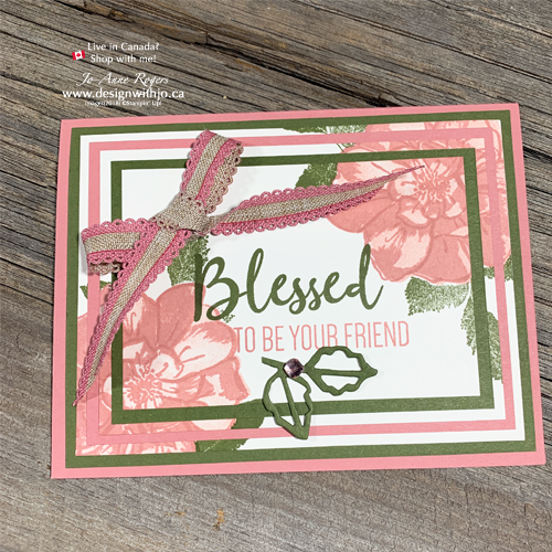 Make This GORGEOUS Three Step Stamping and a Triple Panel Card