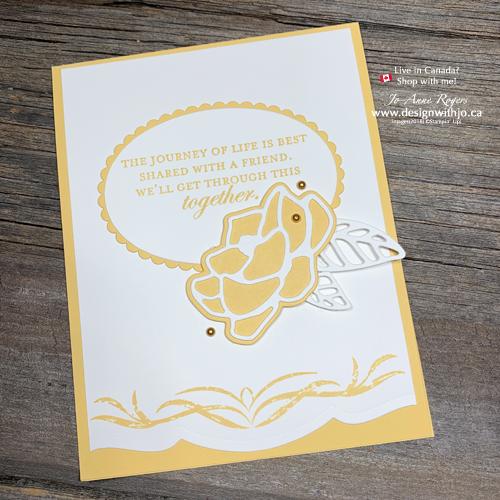 Magnolia Memory Die: Tips for Layering Die Cuts on Handmade Cards