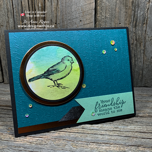 SEE Easy Card Making with Circle Punches and DSP