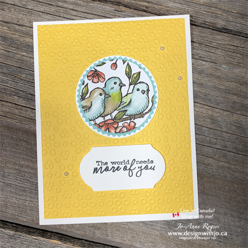 Which oN'es YOUR FAVE? Easy Card Making with Circle Punches and DSP