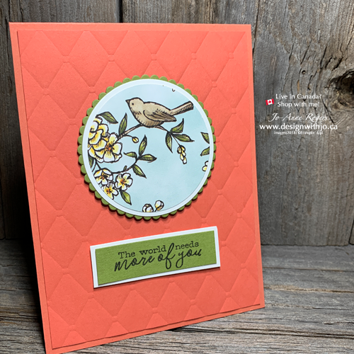 I LOVE Easy Card Making with Circle Punches and DSP