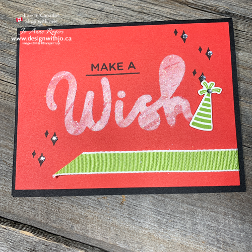 Let me show you how to use embossing paste with word dies