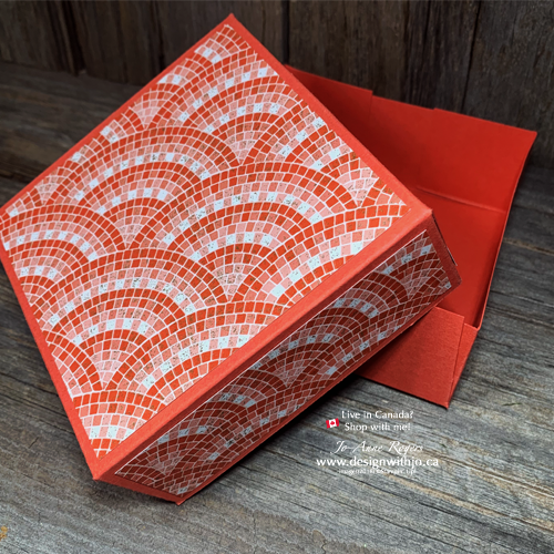 Make Your Own Gift Boxes with Patterned Paper
