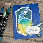 I LOVE LOVE To Use the Stampin Write Markers Watercolour Spritz Technique