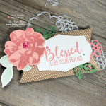 Beautiful Wild Rose Dies Pillow Box from Stampin Up