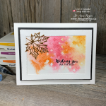 See Exactly How to Create Fall Card Making Ideas with Watercolor and Stencils