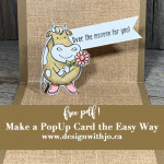 Make Pop Up Cards the Easy Way with my FREE pdf!