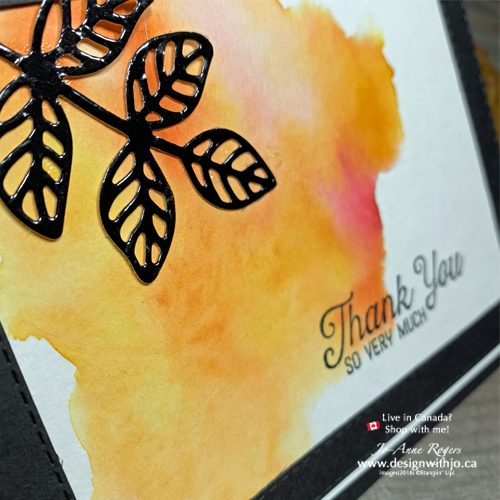 I LOVE Fall Card Making Ideas Using Watercolor and Stencils