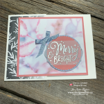 FREE PDF for this Embossed Vellum for Quick Card Making with Feels Like Frost DSP
