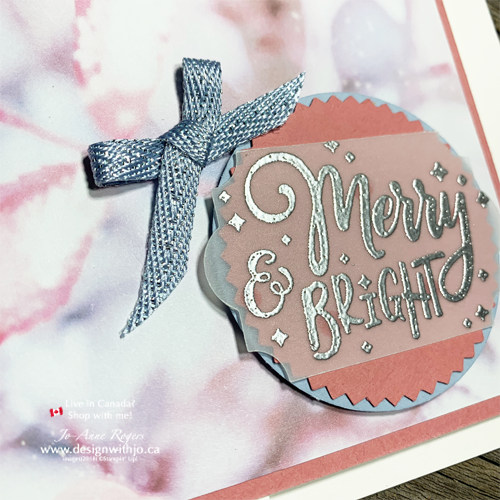 Oh So Pretty Embossed Vellum for Quick Card Making