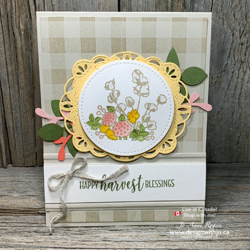 Handmade Card for Fall