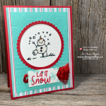 Learn How to Use the Color Lifter Stampin Blends for Snowman Cards