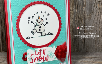 {Video Replay} How to Use the Color Lifter for Snowman Cards
