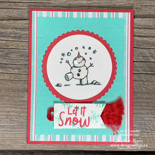 Let Me Show You How to Use the Color Lifter Stampin Blends for Snowman Cards