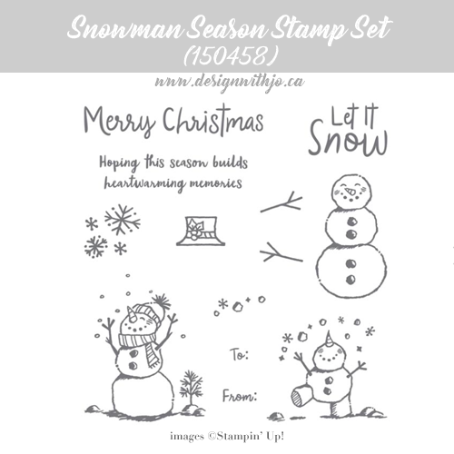 How to Use the Color Lifter Stampin Blends for Snowman Cards