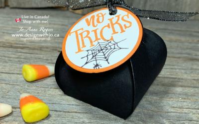 Quick and Easy Mini Curvy Keepsake Halloween Treat Box
