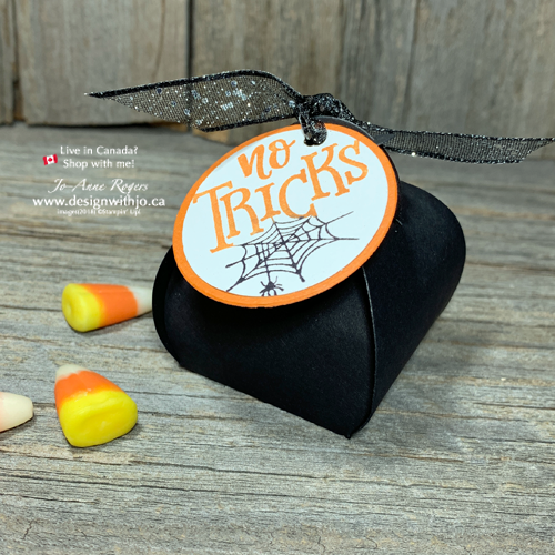ADORABLE Mini Curvy Keepsake Halloween Treat Box