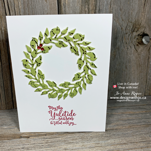 So SIMPLE Wreath Cards to Make for the Holidays