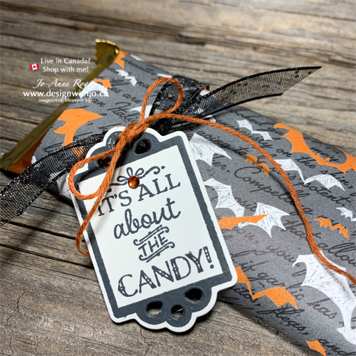 I Love these Adorable and FAST Wrapped Candy Bar Halloween Treatholders